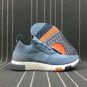 Adidas Boost Nmd Racer Spring NMD 3 Blue Women Men Fashion Trending Running Sports Shoes Sneakers