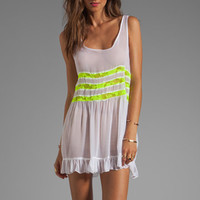 Gypsy Junkies Seville Tunic in White/Yellow from REVOLVEclothing.com