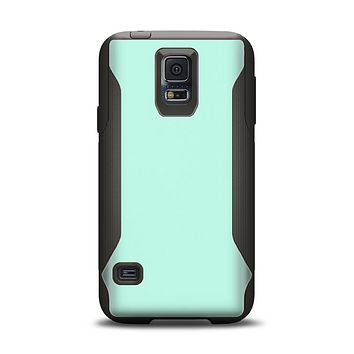The Subtle Solid Green Samsung Galaxy S5 Otterbox Commuter Case Skin Set