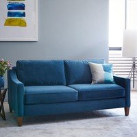 Paidge Sofa - Lagoon (Performance Velvet)
