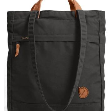 fjallraven - totepack no. 1 shoulder bag - black