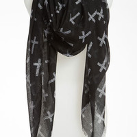 BP. 'Allover Cross' Scarf | Nordstrom