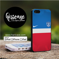 Us Soccer Jersey iPhone 5 | 5S | SE Cases haricase.com