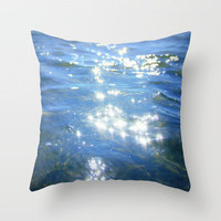 sparkling moments of life Throw Pillow by Marianna Tankelevich | Society6