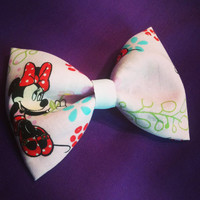 Minnie Mouse Flower Hair Bow