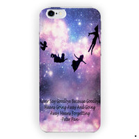 Peter Pan Quotes Love Pretty For iPhone 6 / 6 Plus Case