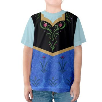 Kid's Anna Frozen Inspired Shirt