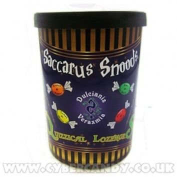 Saccarus Snood Quizzical Lozenges 160g Tin