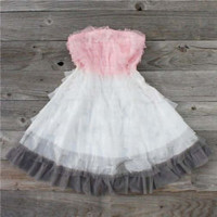 Teirs & Tulle Party Pink Vintage Dress