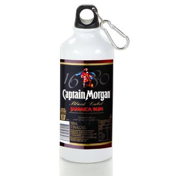Gift Sport Bottles | Black Captain Morgan Aluminum Sport Bottles