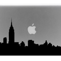 New York Skyline Macbook Decal / Macbook Sticker / by BengalWorks