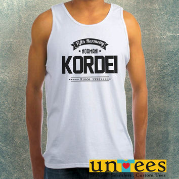 Normani Kordei Fifth Harmony Clothing Tank Top For Mens
