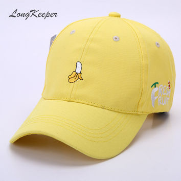 Lovely Ladies' Baseball Cap Women Cotton Snapback Caps Girls Casual Hat Pink Yellow Orange Red gorras beisbol MYW63