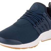 NIKE Air Presto Womens Fashion Sneakers Navy/Obsidian/Gum Light Brown/Navy 878068-403