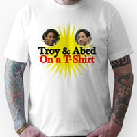 Troy and Abed on a T-Shirt Unisex T-Shirt