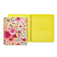 Large Spiral Notebook - Dahlia