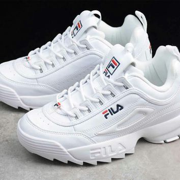 """FILA"" Fashion Casual Elasticity Unisex Sneakers Couple Running Shoes"