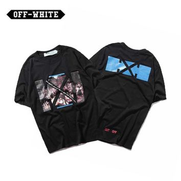 ABHCXX OFF-WHITE Arrows Black T-Shirt