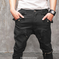 Undercover Multi Zip Pocket Cargo Baggy-Skinny Pants