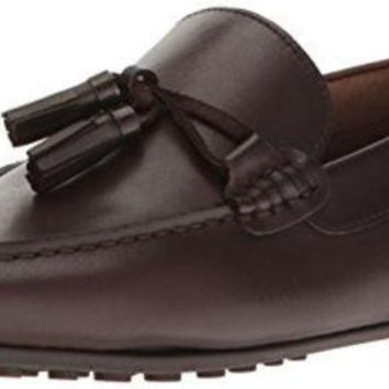 DCCK8BW Aldo Men's Freinia Penny Loafer Dark Brown 7 D US