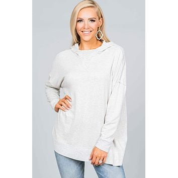 Hooded Slouchy Tunic