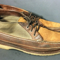 Red Wing® Wabasha Chukka Brown Leather Boots Men's Size 11 E