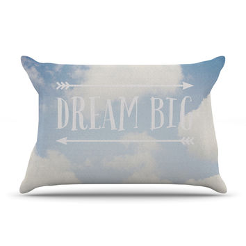 "Susannah Tucker ""Dream Big"" Clouds Pillow Case"