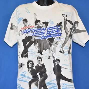 90s World Figure Skating Champions 1992 t-shirt Extra Large