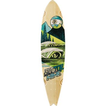 """Sector 9 Bamboo Offshore Longboard Deck - 9.37"""""""