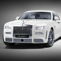 Mansory Front Bumper II with Middle Grille | Air Outlet Rolls Royce Ghost 14-15