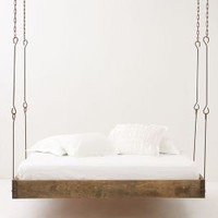 Barnwood Hanging Bed - Anthropologie.com