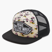 Vans Disney Collection Minnie Mouse Womens Trucker Hat Ivory One Size For Women 25969416001