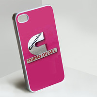 pink cummins crome iPhone Case for iPhone 4, iPhone 5, Samsung S3, Samsung S2 Hot Edition