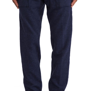 Norse Projects Gustav Wool Pant in Navy