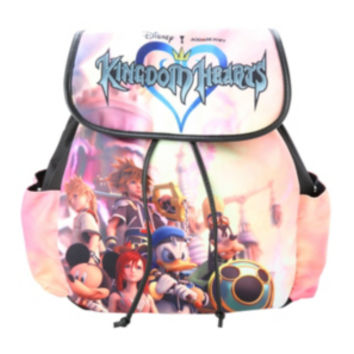 Disney Kingdom Hearts Group Slouch Backpack