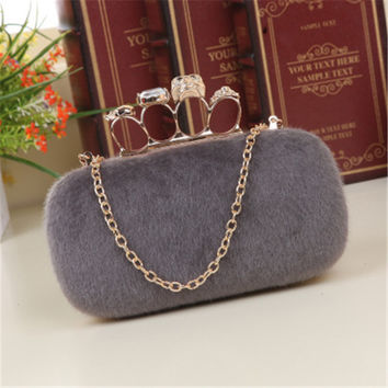 New Designer Hand-beaded Evening Bags Noble Crown Women Bag Fashion Clutch Bags Day Clutch Wedding Bride Handbags Party Purse
