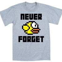 Never Forget Funny Party Gaming - Mens T-Shirt - Athletic heather - Small
