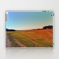 Hiking through beautiful scenery   landscape photography Laptop & iPad Skin by Patrick Jobst