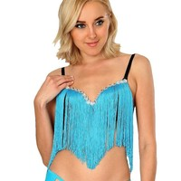 Tassel Flow Bra Top