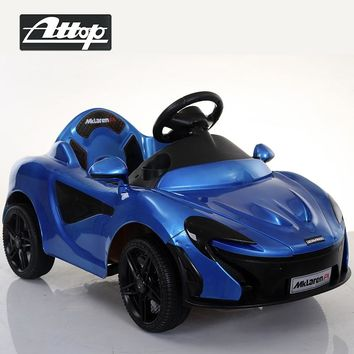 Ride on Car Children Electric Music LED Light P1 Super Car Remote Control Charge Four Wheel Boys Girls Baby Luxury Toy Car Gift