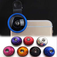 Universal Clip HD 0.4 X Super Wide Angle Cell Phone Camera Lens Accessories NEW = 1706364100