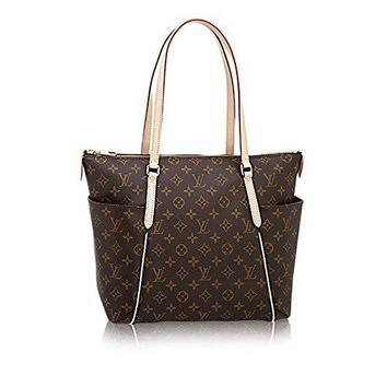 Authentic Louis Vuitton Monogram Canvas Totally MM Shoulder Bag Handbag Article: M41015 Made in France