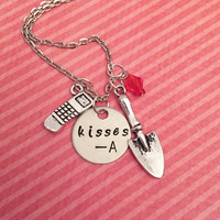 Pretty Little Liars Kisses A Necklace - Pretty Little Liars Jewelry - PLL Jewelry - Fandom Jewelry
