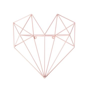 Metal Wall Heart | Pink