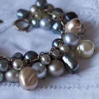 glass pearls vintage bracelet by harmony and rosie | notonthehighstreet.com