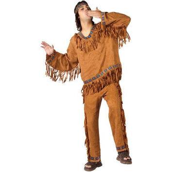 Men's Costume: American Indian Man