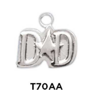 Sterling Silver Charms for Dads