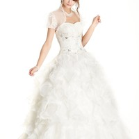Full  Length A-Line Prom and Evening Dress
