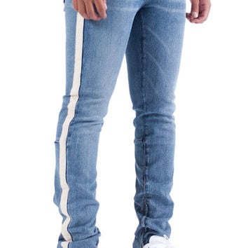 The Rival Track Pants in Medium Blue