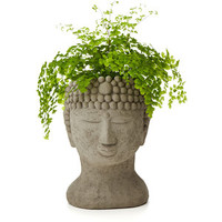 Michael Gentilucci Buddha Head Planter
